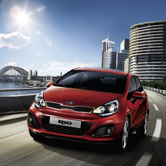 All new Kia RIO 2012