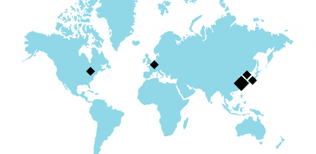 ARKAMYS offices in USA, France, Japan, South Korea and China