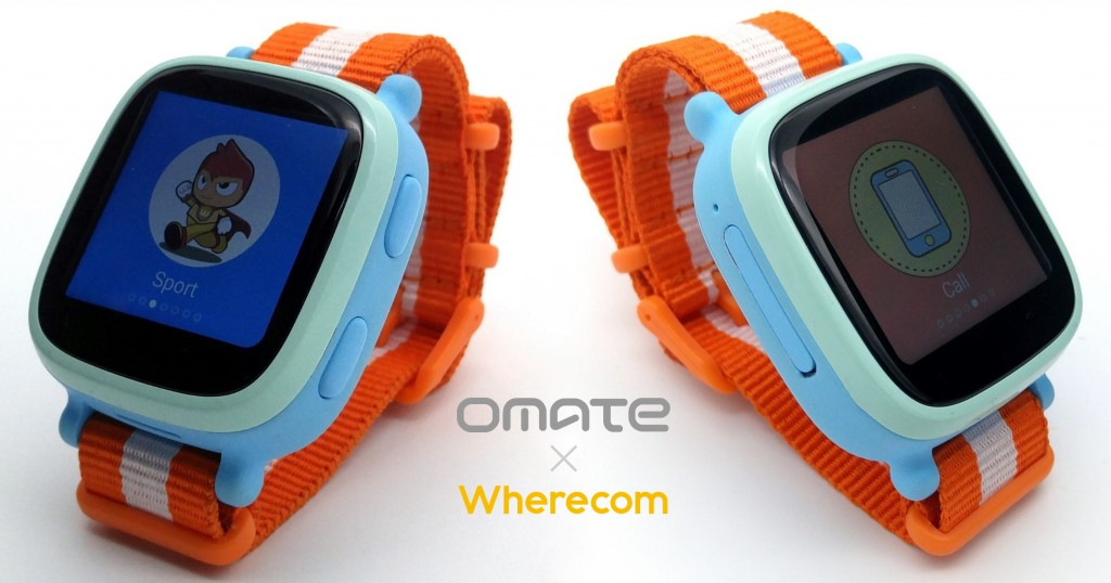 Omate Wherecom Smartwatch ARKAMYS