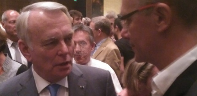 CEO of ARKAMYS - of ARKAMYS with Jean-Marc Ayrault in Beijin