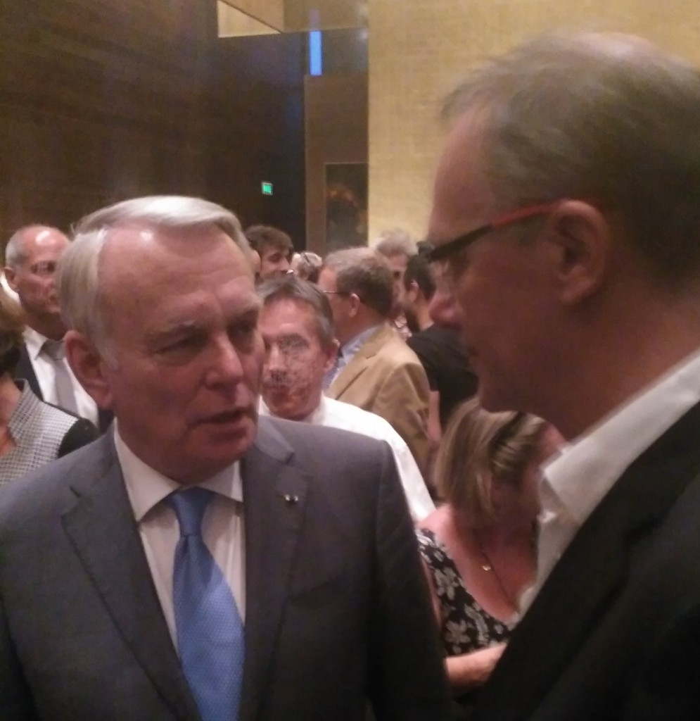 CEO of ARKAMYS - ARKAMYS Jean-Marc Ayrault Beijin