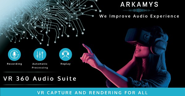 ARKAMYS creates 360 audio software for VR videos