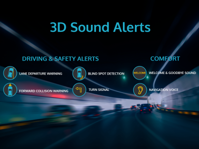 3D Sound Alerts for ADAS by ARKAMYS