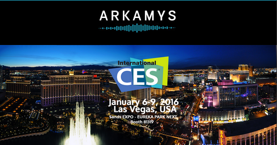 ARKAMYS audio experts CES 2016