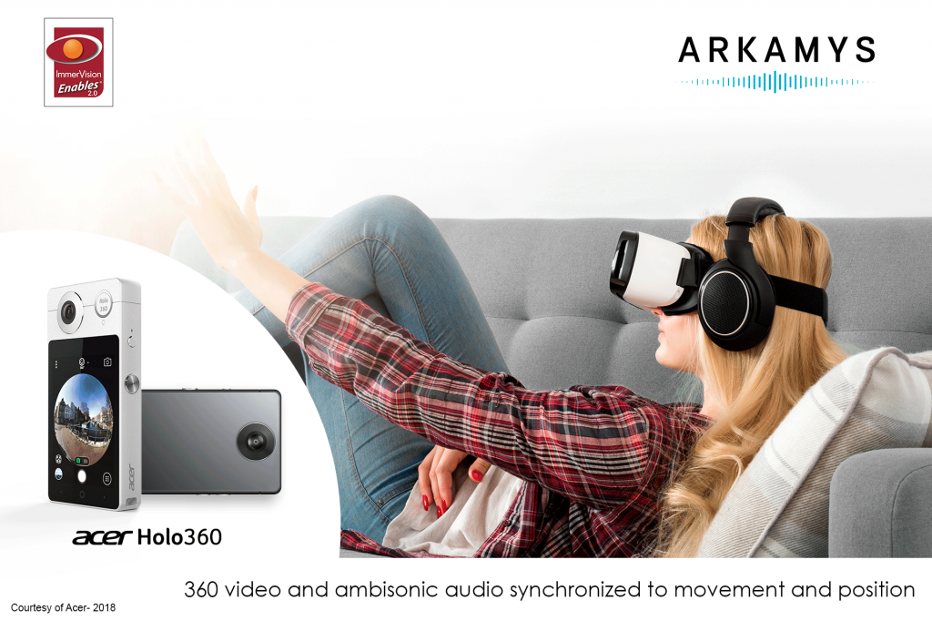 ARKAMYS & IMMERVISION DELIVER IMMERSIVE AUDIO & AUDIO EXPERIENCE