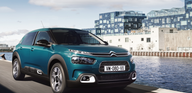 Citroen C4 Cactus French audio software high-technology ARKAMYS