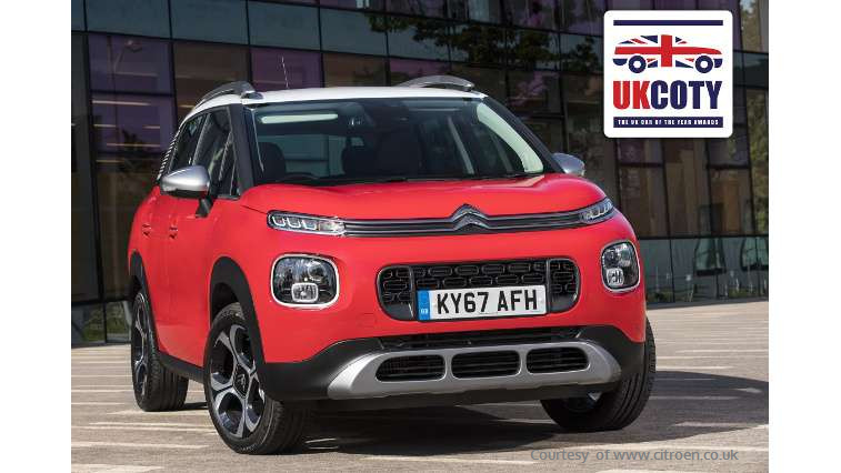 arkamys audio in the new c3 aircross 2018 crowned best small suv in uk. Black Bedroom Furniture Sets. Home Design Ideas